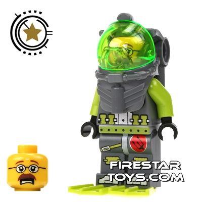 LEGO Atlantis Mini Figure - Diver Jeff Fisher