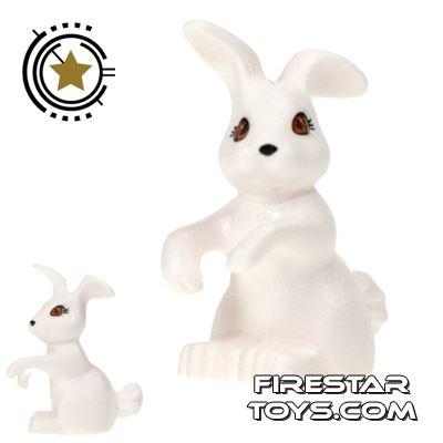 LEGO Animals Mini Figure - Rabbit - White