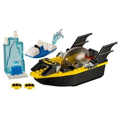 Custom Mini Set - Super Heroes - Batboat and Mr Freeze's Ice Speeder