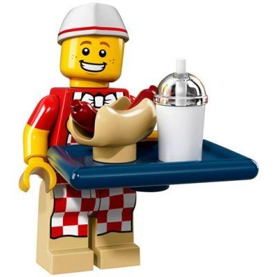 LEGO Minifigures 71018 - Hot Dog Guy