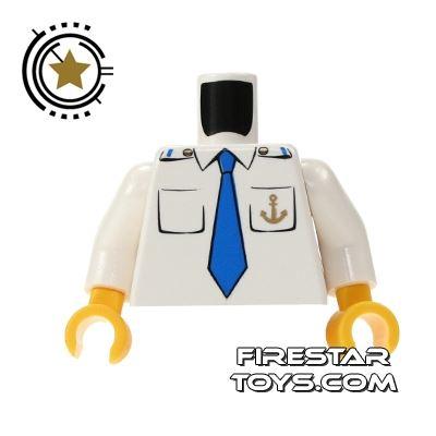 LEGO Mini Figure Torso - Ship Captain