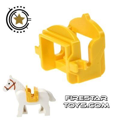 LEGO - Horse Saddle - Yellow