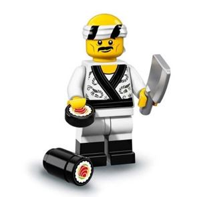 LEGO Minifigures 71019 - Sushi Chef