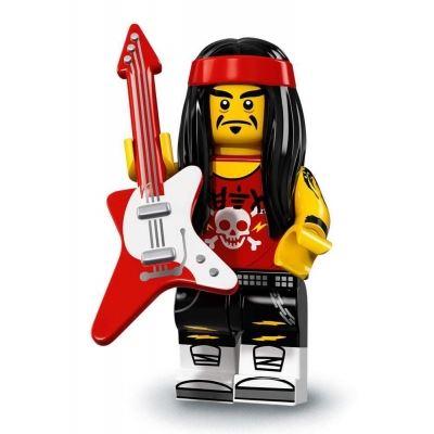 LEGO Minifigures 71019 - Gong & Guitar Rocker