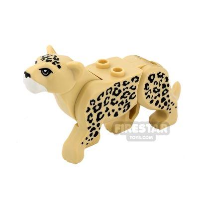 LEGO Animals Mini Figure - Leopard - Tan