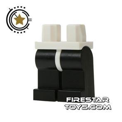 LEGO Minifigure Legs - Hips WHITE - Legs