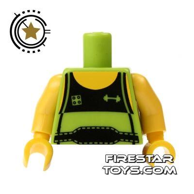 LEGO Mini Figure Torso - Weightlifter