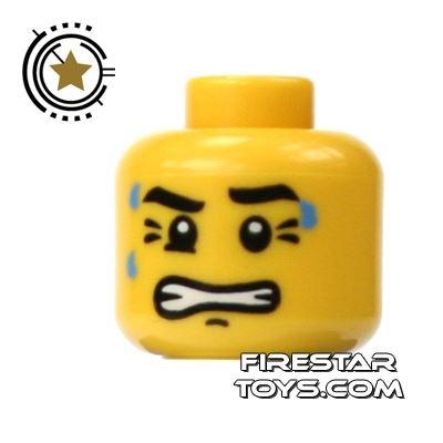 LEGO Mini Figure Heads - Clenched Teeth