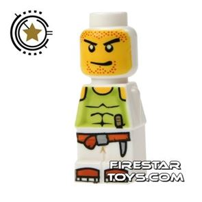 LEGO Games Microfig - Magma Monster White