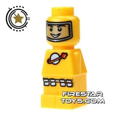 LEGO Games Microfig - Lunar Command Yellow