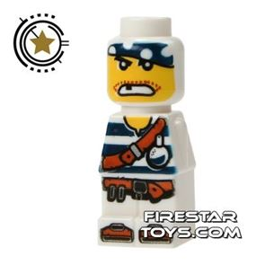 LEGO Games Microfig - Plank Pirate White