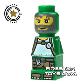 LEGO Games Microfig - Magma Monster Green