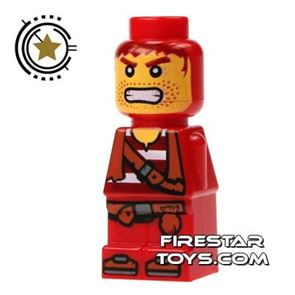 LEGO Games Microfig - Plank Pirate Red