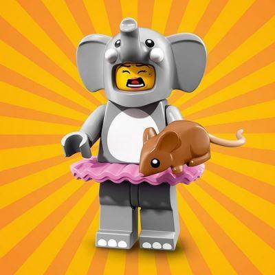 LEGO Minifigures 71021 Elephant Girl