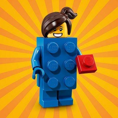 LEGO Minifigures 71021 Brick Suit Girl