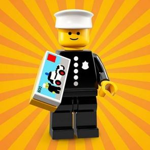 LEGO Minifigures 71021 Classic Police Officer