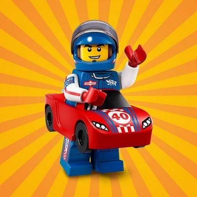 LEGO Minifigures 71021 Race Car Guy