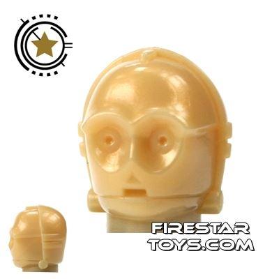 LEGO Minifigure Head C-3PO