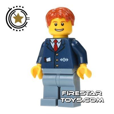 LEGO City Mini Figure - Train Driver