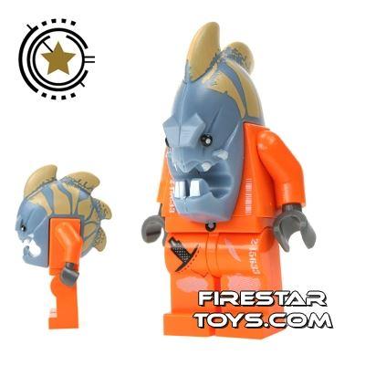 LEGO Space Police Mini Figure - Space Police 3 Alien – Jawson
