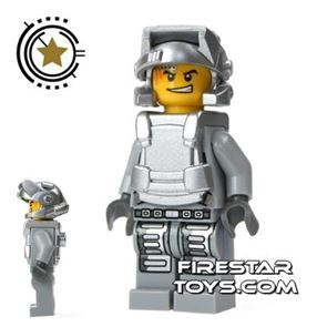 LEGO Power Miners Mini Figure - Engineer With Armour
