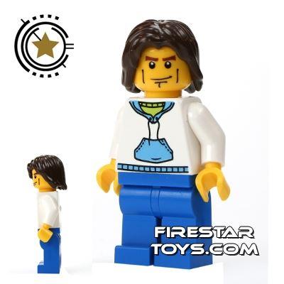 LEGO City Mini Figure - Man With Hoodie
