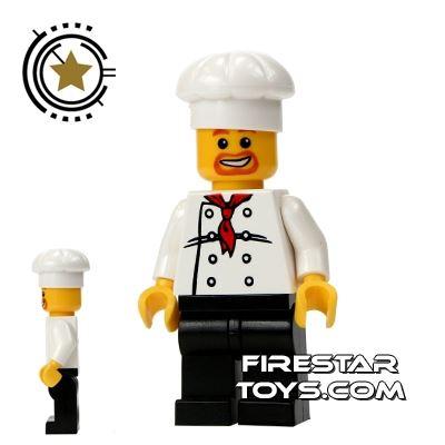 LEGO City Mini Figure - Happy Master Chef