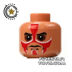 LEGO Minifigure Heads Painted Face
