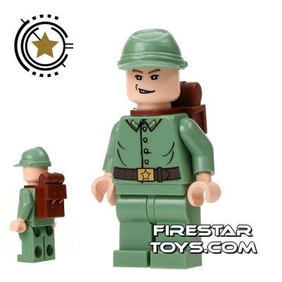 Lego Indiana Jones Mini Figure - Russian Guard 3