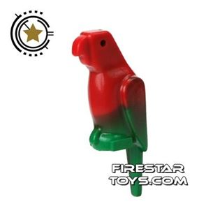 LEGO Animals Mini Figure - Parrot - Red And Green