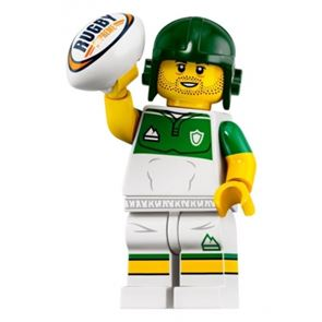LEGO Minifigures 71025 Rugby Player