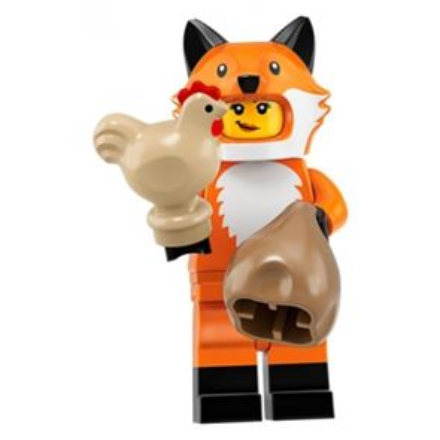 LEGO Minifigures 71025 Fox Costume Girl