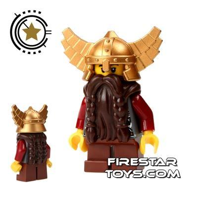 LEGO Castle Fantasy Era - Dwarf - Brown Beard