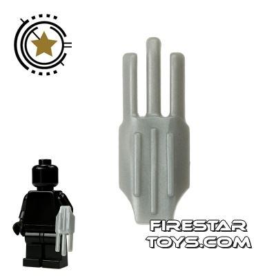 LEGO - Bladed Claw - Flat Silver
