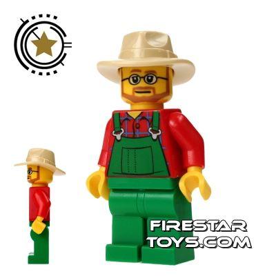 LEGO City Mini Figure - Farmer 8