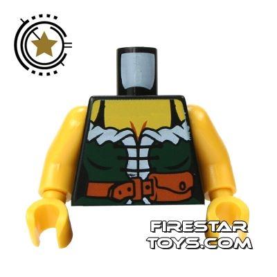 LEGO Mini Figure Torso - Female Pirate Corset