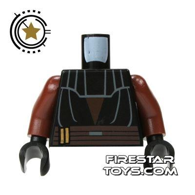 LEGO Mini Figure Torso - Black Anakin Top