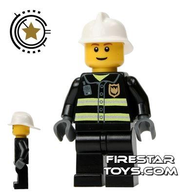 LEGO City Mini Figure – Fireman Smiling