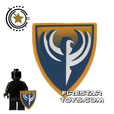 LEGO - Blue And Gold Hawk Shield
