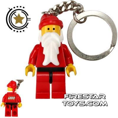 LEGO Key Chain City Santa