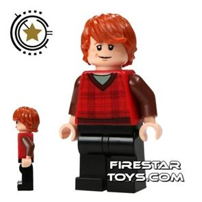 LEGO Harry Potter Mini Figure -  Ron Weasley Tartan