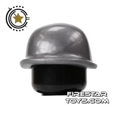 BrickForge - Soldier Helmet - Silver