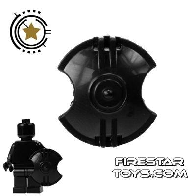 SI-DAN - Gladiator Spartan Shield - Black