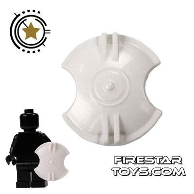 SI-DAN - Gladiator Spartan Shield - White