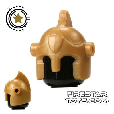 BrickForge - Battle Helmet - Gold
