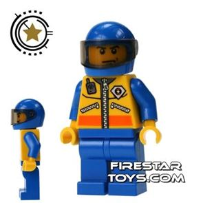 LEGO City Mini Figure - Coast Guard - Helicopter Pilot 2
