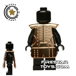 BrickTW - Ching Dynasty Armour - Gold Plated