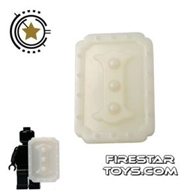 BrickTW - Spear Shield - White Jade