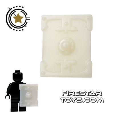 BrickTW - Rectangle Shield - White Jade