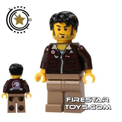 LEGO Pharaoh's Quest Mini Figure - Jake Raines